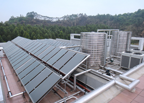 太阳能热水器水温能达到多少度,冬天能不能用,阴雨天能不能用?